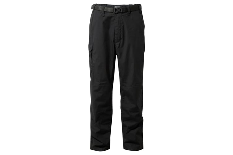 Craghoppers Outdoor Classic Mens Kiwi Stain Resistant Trousers (Black Pepper) (36R)