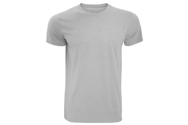Russell Mens Slim Fit Short Sleeve T-Shirt (Silver Marl) (3XL)