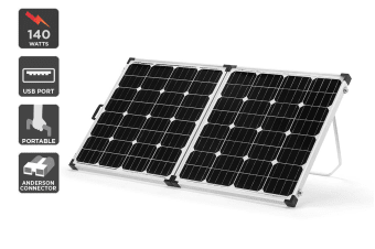 Komodo Folding Solar Panel Kit 140W