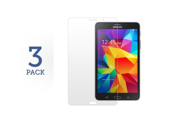 3 Pack Screen Protector for Samsung Galaxy Tab 4 7.0""