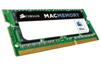 Corsair 4GB (1x4GB) DDR3 1333 SODIMM 1.5V Memory for MAC