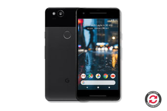 Google Pixel 2 Refurbished (64GB, Just Black) - AB Grade