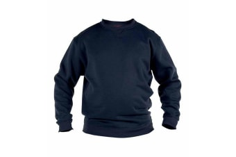Duke Mens Rockford Kingsize Sweat Crew Neck Jumper (Navy)