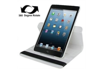 For iPad mini 1 / 2 / 3 Case  Durable High-Quality Leather Cover White