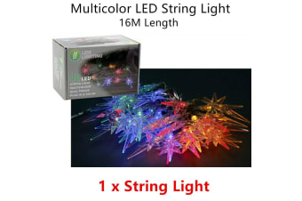 RGB Color Wire LED Timer Lighting Decor Party Tree Dim String Solar Christmas