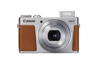 New Canon PowerShot G9X Mark II 20MP Digital Camera Silver (FREE DELIVERY + 1 YEAR AU WARRANTY)