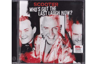 Scooter ‎– Who's Got The Last Laugh Now? BRAND NEW SEALED MUSIC ALBUM CD