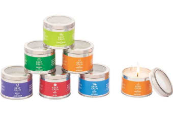 3 x Keep Calm Scented Candle in Tin 125g Assorted