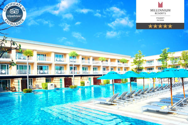 PHUKET: 7 or 10 nights at the Millennium Resort Patong, Phuket for Two - (7N Superior Room)