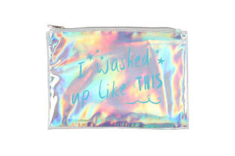 Something Different I Washed Up Like This Makeup Pouch (Multicolour) (One Size)