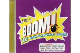 Boom 2 Blondie/Big Punisher/KRS-One/Robyn/Keith Murray/Ace Of Base CD NEW SEALED