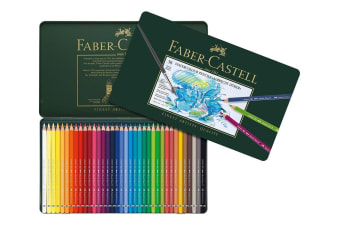 Faber-Castell Albrecht Durer Watercolour Pencils - 36 Assorted Colours (Tin Case)