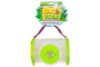 4pc Bugs World Bug Catcher w/ Container/Magnifier/Tweezers/Scissors Toys Kit