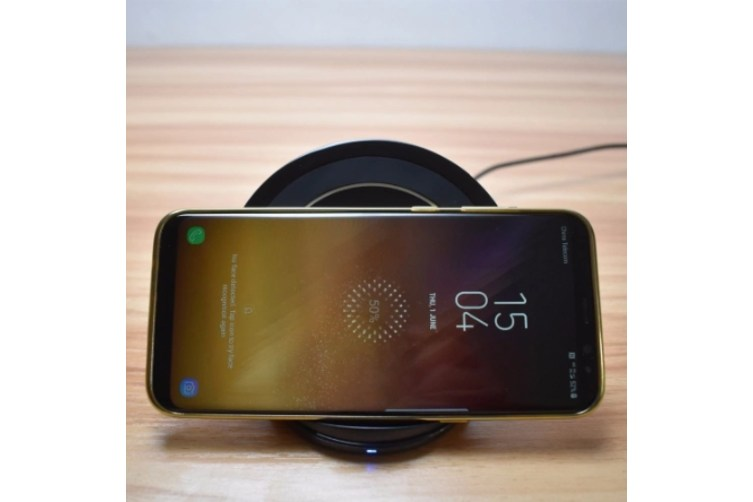 Qi Fast Charge Wireless Charger for Samsung Galaxy S8/S8+/S7/S7 Edge/S6 Edge+/Note 5/Note 8/Note FE