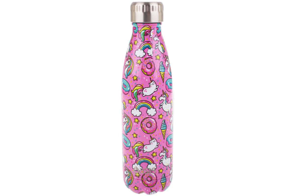 Oasis 500ml Water Thermo Bottle 2 Wall Stainless Steel Cold Hot Drink Unicorn