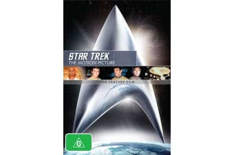 Star Trek The Motion Picture DVD Region 4
