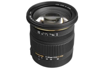 New Sigma 17-50mm f/2.8 EX DC HSM Lens (Pentax) (FREE DELIVERY + 1 YEAR AU WARRANTY)