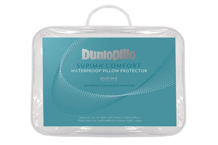 Dunlopillo Supima Comfort Waterproof Pillow Protector