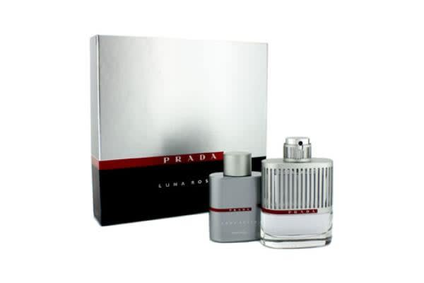 Prada Luna Rossa Coffret: Eau De Toilette Spray 100ml/3.4oz + Shower Gel 100ml/3.4oz (2pcs)