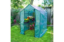 Garden Apex Roof Greenhouse 190 x 120 x 190cm
