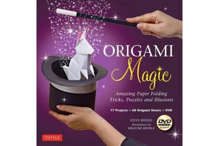 Origami Magic Kit - Amazing Paper Folding Tricks, Puzzles and Illusions