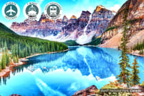 CANADA & ALASKA: 16 Day Rocky Mountaineer Tour & Alaska Cruise Including Flights for Two