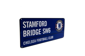 Chelsea FC Official Street Sign (Blue)