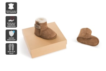 Outback Ugg Baby Classic - Premium Double Face Sheepskin (Chestnut)