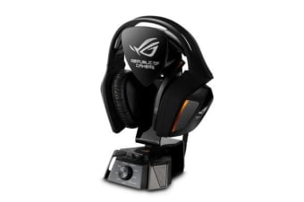 ASUS ROG 7.1 (ROG Centurion) gaming headset True7.1 Noise-cancelling digital microphone Hi-Fi grade ESS headphone amplifier