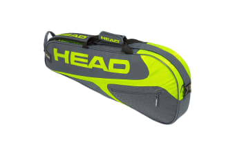 Head Elite Tennis 3R Pro Carry Sports Bag for Racquet/Racket Grey/Neon Yellow