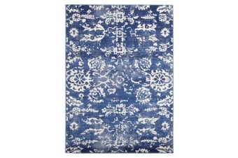 Donna Navy Transitional Rug 230x160cm