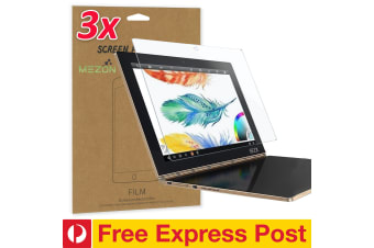 "[3 Pack] Lenovo Yoga Book 10.1"" Ultra Clear Film Screen Protector by MEZON – FREE EXPRESS"