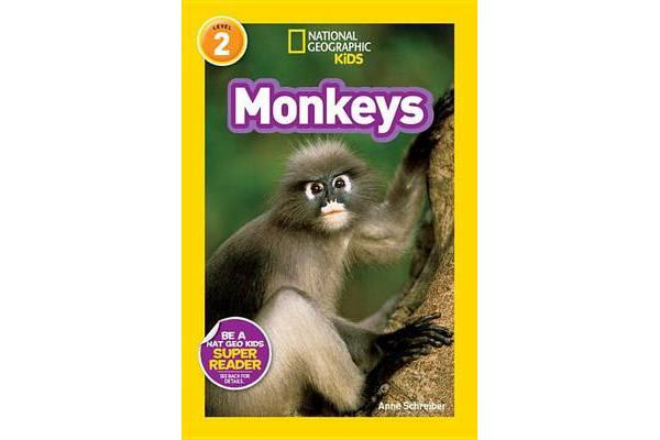 National Geographic Kids Readers - Monkeys