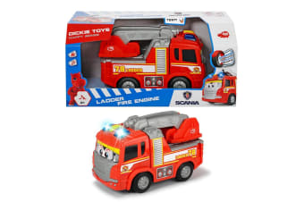 Dickie Toys Happy Scania Fire Truck for Toddlers