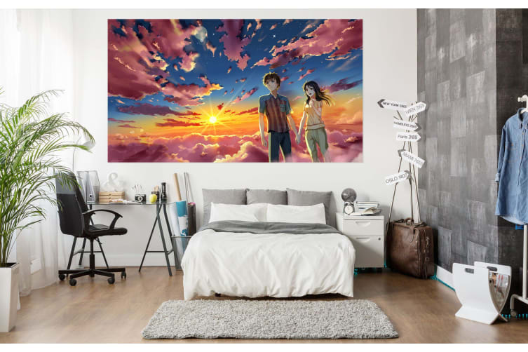 3D Your Name 41 Anime Wall Stickers Self-adhesive Vinyl, 180cm x 100cm(70.8'' x 39.3'') (WxH)