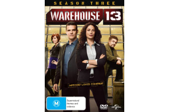 Warehouse 13 Season 3 DVD Region 4