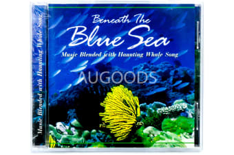 Beneath The Blue Sea - Music Blended with Haunting Whale Song CD NEW SEALED