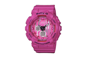 Casio Baby-G Ana-Digital Watch - Vivid Pink (BA120SP-4A)