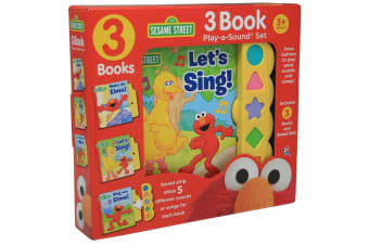 Sesame Street 3-book Play-A-Sound