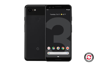Google Pixel 3 Refurbished (64GB, Just Black) - AB Grade