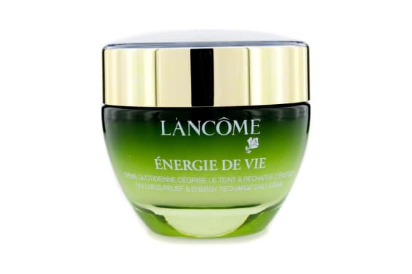 Lancome Energy De Vie Dullness Relief & Energy Recharge Daily Cream (For All Skin Types, Made in France) (50ml/1.7oz)