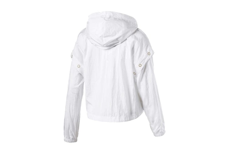 Puma Women's Retro Windrunner (White, Size XS)