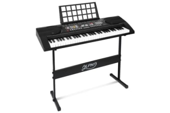 Alpha 61-Key Electronic Keyboard EK-81