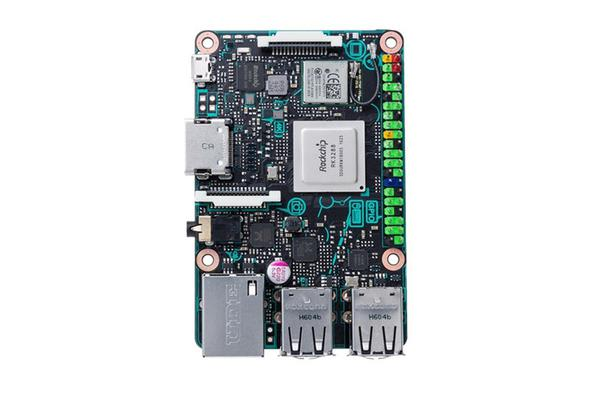 ASUS Tinker Board Quad-Core RK3288 1.8G Processor and 2GB Dual Channel LPDDR3 Memory Supports Max.