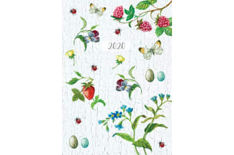 Beauty of Nature 2020 Premium Diary Planner A5 Padded Cover Home New Year Gift