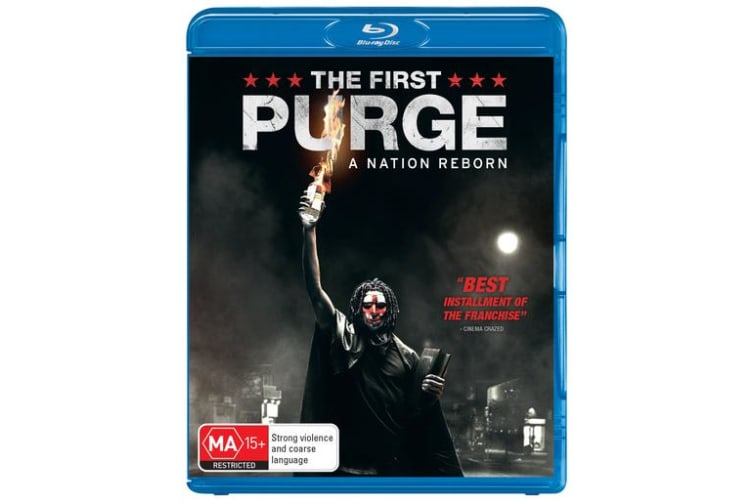 The First Purge with Digital Download Blu-ray Region B