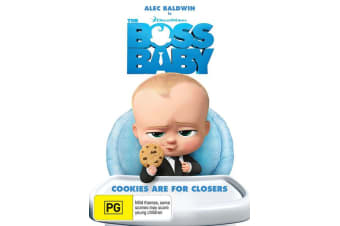 The Boss Baby DVD Region 4