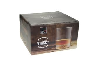 Royal Leerdam Artisan Whisky Tumblers 300ml Set 4
