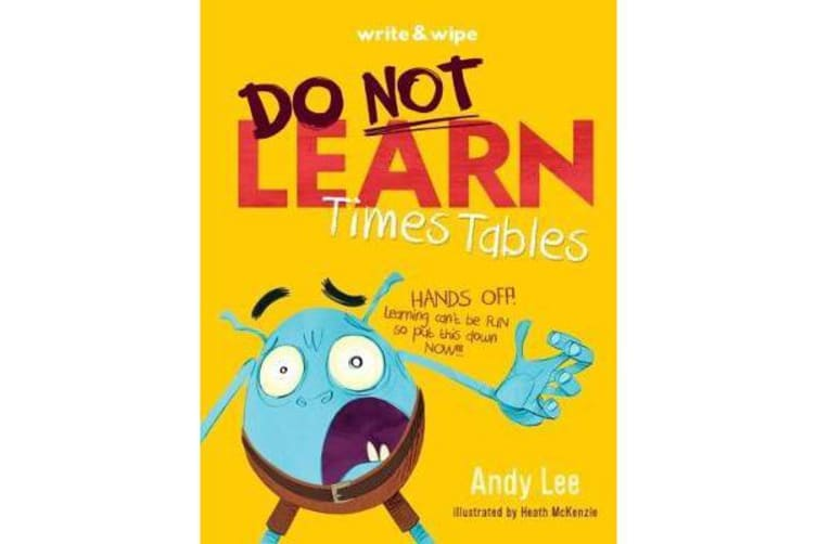 Do Not Open Learn Times Tables