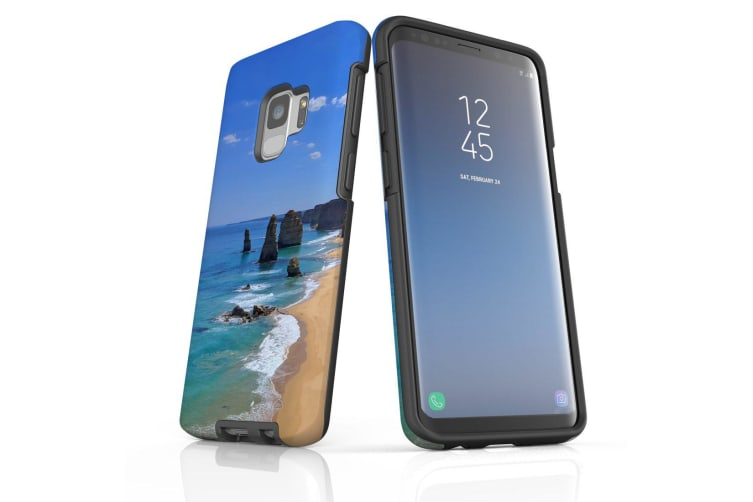 For Samsung Galaxy S9 Case Armour Cover  Famous Rocks